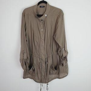 Torrid Olive Lightweight Utility Jacket
